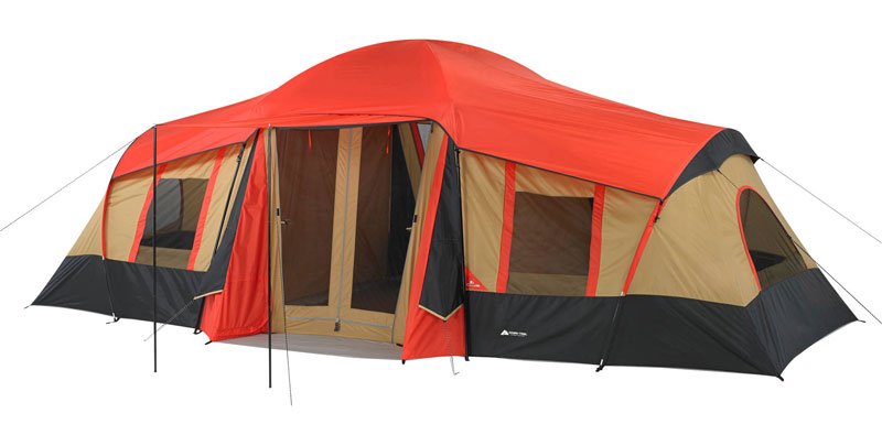 Ozark Trail 10 Person 3 Room Cabin Tent. u003eu003e  sc 1 st  Koiyaki Guiding School & Review Of Ozark Trail Outdoor Equipment u0026 Camping Gear