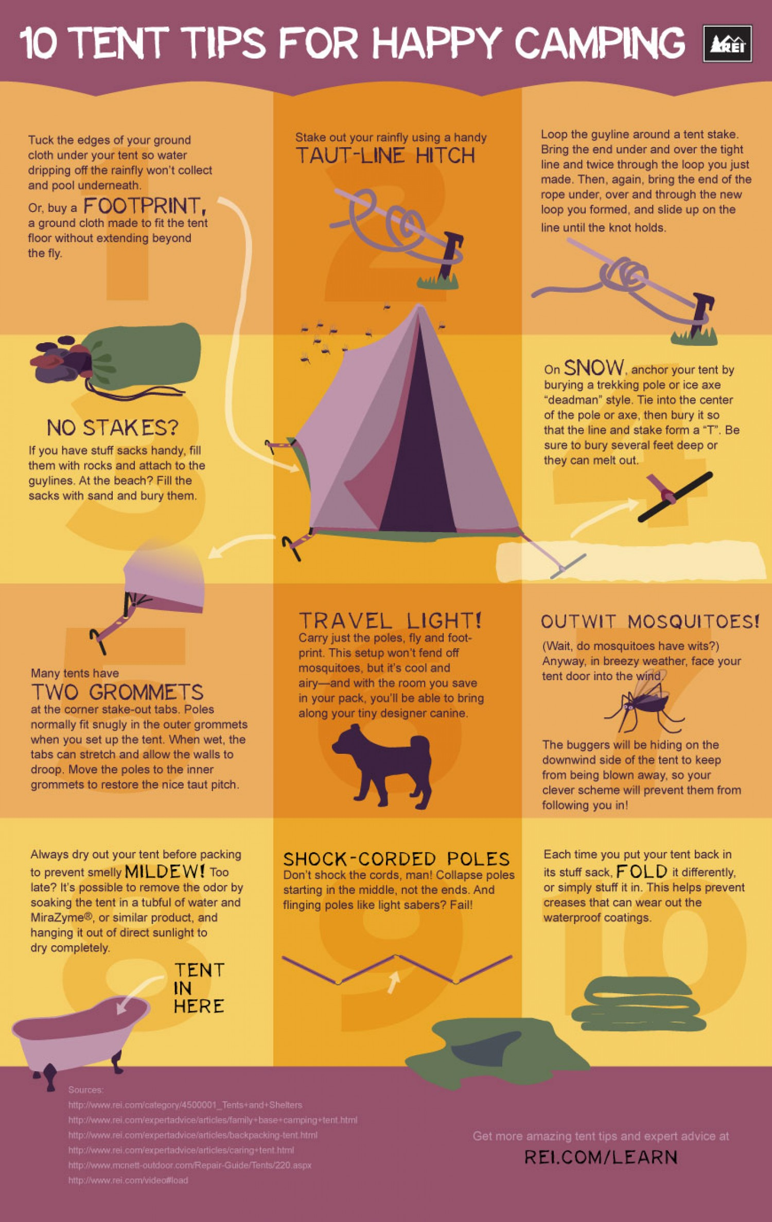 10 Tent Tips For Happy Campin