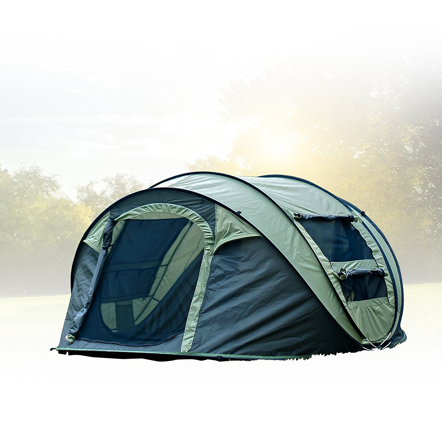 Fivejoy Instant 4 Person Tent  sc 1 st  Koiyaki Guiding School & Best Family Tent For Camping in 2018 - KOIYAKI.COM